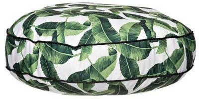 Banana Leaf Round Floor Cushion