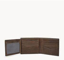 Allen RFID Traveler Leather Wallet