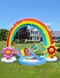 Inflatable 95 Rainbow Sprinkler / Slip-N-Slide