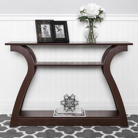 47 3-Shelf Entryway Display Console Accent Table