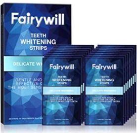 Fairywill Teeth Whitening Strips for Sensitive Teeth