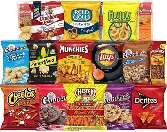 Frito-Lay Ultimate Snack Care Package 40-Count