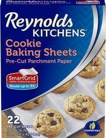 Reynolds 22 Count Non-Stick Baking Parchment Paper Sheets