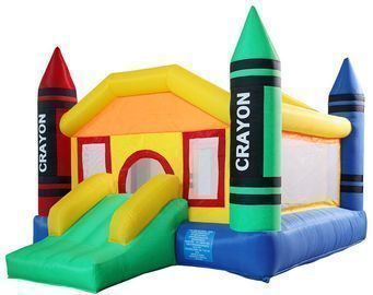 12.2' x 9.2' Bounce House with Slide