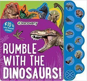 Discovery: Rumble w/ Dinosaurs Sound Board Book
