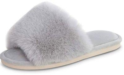 Women's Faux Fir Slippers