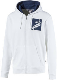 Puma Men's Big Logo Full Zip Hoodie