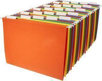 AmazonBasics 25-Pack Hanging Organizer File Folders