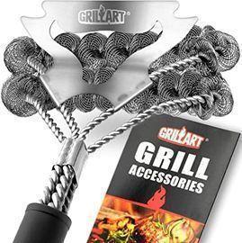 GRILLART Grill Brush & Scraper