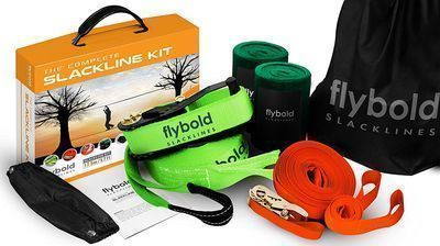 Flybold Slackline Kit with Training Line