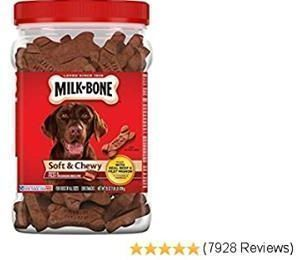 Milk-Bone Soft & Chewy Dog Treats - Beef & Fillet Mignon