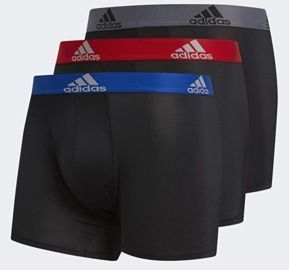 adidas 3pk Men's Climalite Trunks Underwear