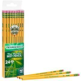 Ticonderoga #2 Pencils, 24pk