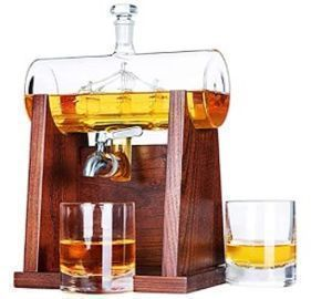 Whiskey Decanter & Glasses Set