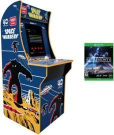Space Invaders Arcade1Up Cabinet + Star Wars BattleFront 2 (Xbox 