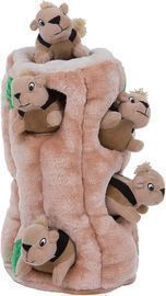 Outward Hound Hide-A-Squirel Interactive Puzzle Dog Toy