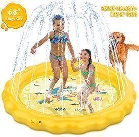 Dillitop Sprinkler Pool for Kids