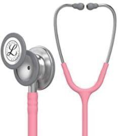 3M Littmann Classic III Monitoring Stethoscope - Pearl Pink