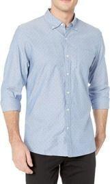 Goodthreads Men's Standard-Fit Long Sleeve Dobby Shirt