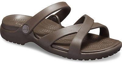 Crocs Womens Meleen Cross-Band Sandal