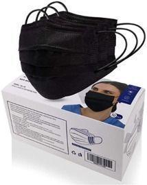 50 Piece Disposable 4-ply Non-Woven Face Masks