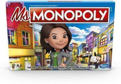 Monopoly Ms.Monopoly Board Game