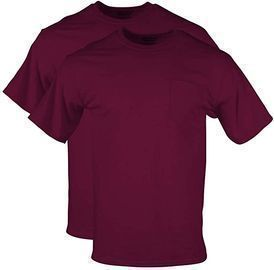 2-Pack of Gildan Men's DryBlend Shirts (Black or Maroon)