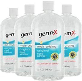 Germ-X 32oz Hand Sanitizer - 4 Pack