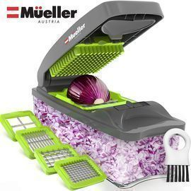 Mueller Austria Onion Chopper Pro Vegetable Chopper