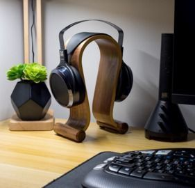 Deco Gear Wood Headphone Display/Stand