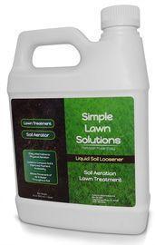 Simple Lawn Solutions Liquid Aerating Soil Loosener 1-Quart Bottle