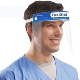 Transparent Face Shield - 5 Pack