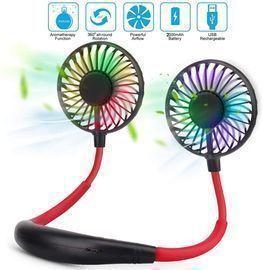 Portable Sports USB Rechargeable LED Fan
