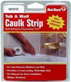 Red Devil 1-5/8 x 11-Foot Tub & Wall Caulk Strip