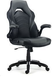 Staples Emerge Vortex Bonded Leather Racing Gaming Chair