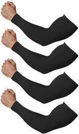 Compression Arm Sleeves for Men and Women, 4pk
