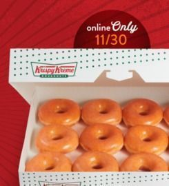 FREE Original Glazed Dozen w/ Any Dozen Purchase