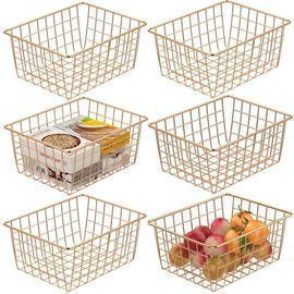 6 Pack of Cambond Wire Baskets (11 x 8.6 x 4.7)