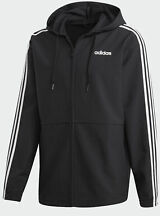adidas Men's Essentials 3-Stripes Windbreaker (3 Colors)