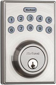 Kwikset Electronic Keypad Deadbolt w/ Motorized Locking