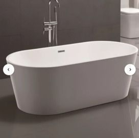 Vanity Art Freestanding Soaking Bathtub