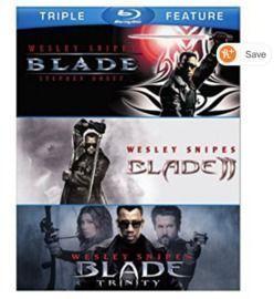 Blade / Blade II / Blade: Trinity (Blu-ray)