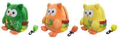 Plush Owl Toddler Backpack