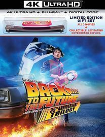 Back to the Future 35th Anniversary Trilogy 4K Gift Set (Pre-
