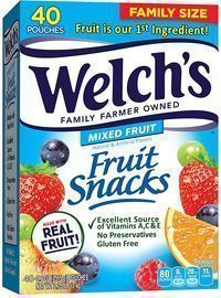 Welch's Fruit Snacks 40-Pack
