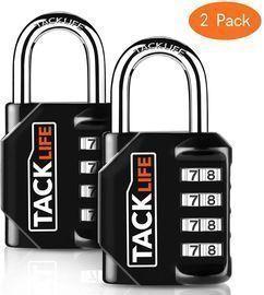 Tacklife Combination Lock 2-Pack