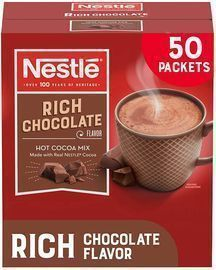 Nestle Hot Chocolate Packets 50-Ct.