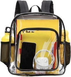 Heavy Duty Transparent Backpack