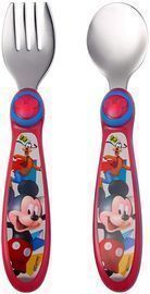 The First Years Mickey Mouse Stainless Steel Flatware for Kids