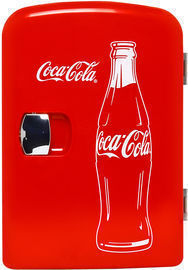 Classic Coca Cola 4 Liter Portable Fridge (Assorted Styles)